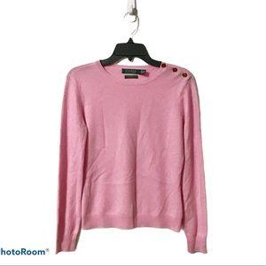 Ralph Lauren Pink Cashmere Sweater